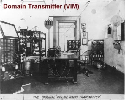 Domain transmitter VIM